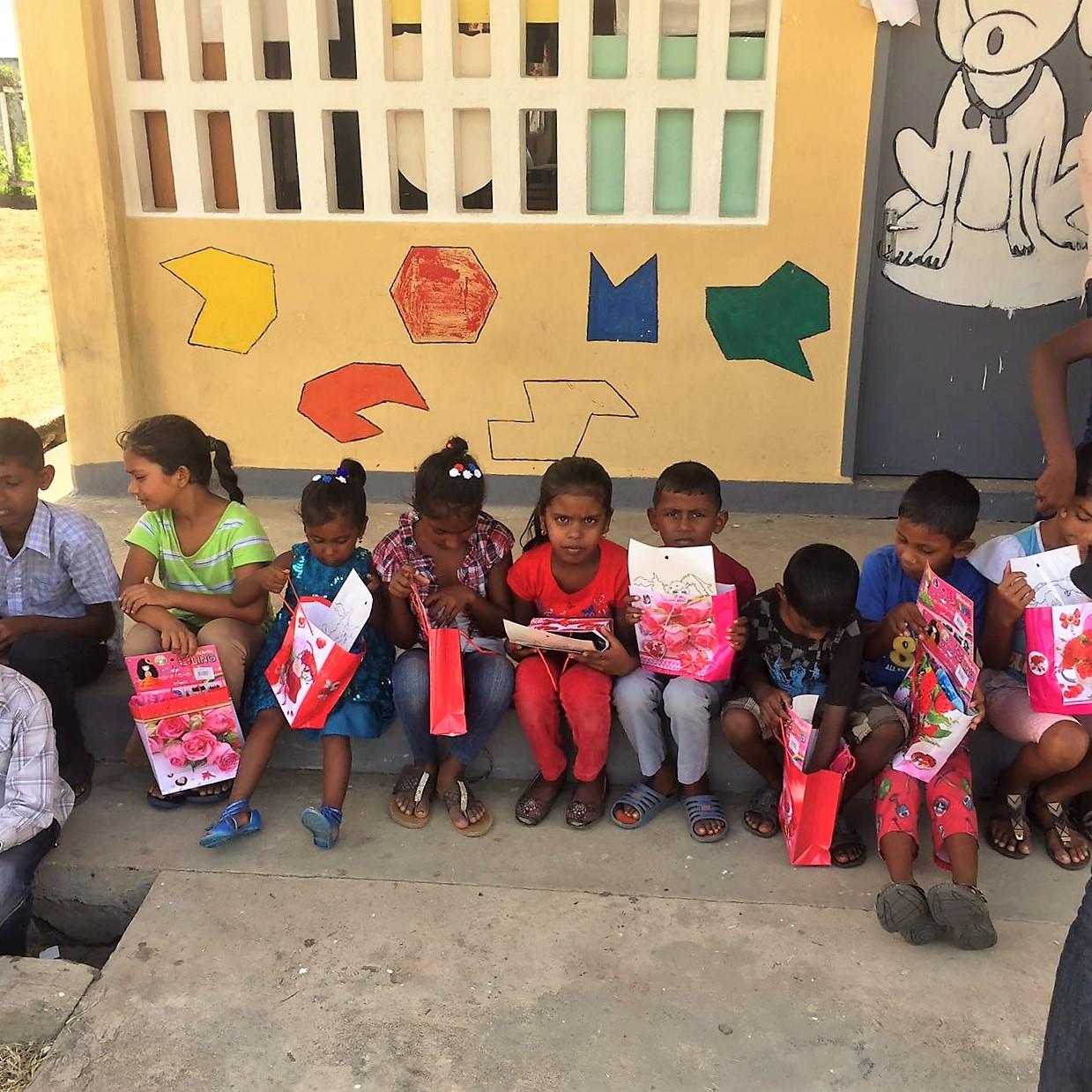 Children of Hope (East Coast Demerara) benefitting from SEC initiative. 2016