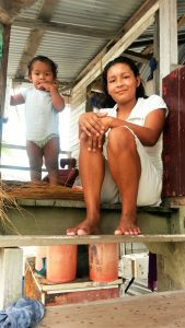 Mother and child, Red Village, Essequibo